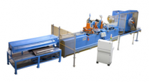 Core cutting line
