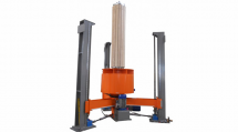 Vertical winding machines